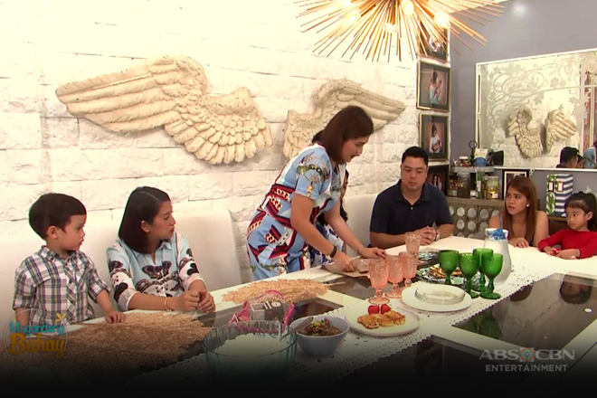 How to set up your dining table a la momshie Dimples
