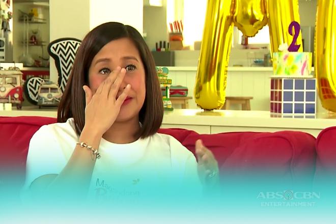 Momshie Jolina gets emotional on Magandang Buhay
