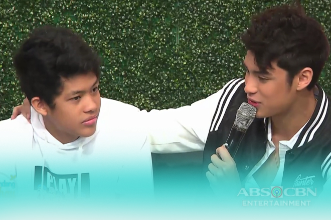 Donny & Benj's promise to each other