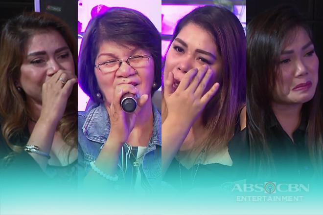 Kris, Mercy at Juliet, bumuhos ang luha habang nagbibigay ng mensahe para sa kanilang momshie