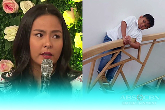 LJ Moreno talks about her adopted son