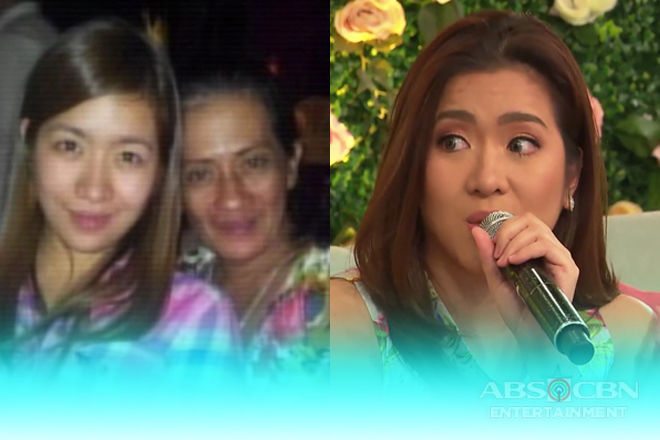 Angeline recalls when she first met her biological mother