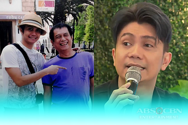 Vhong talks about his father