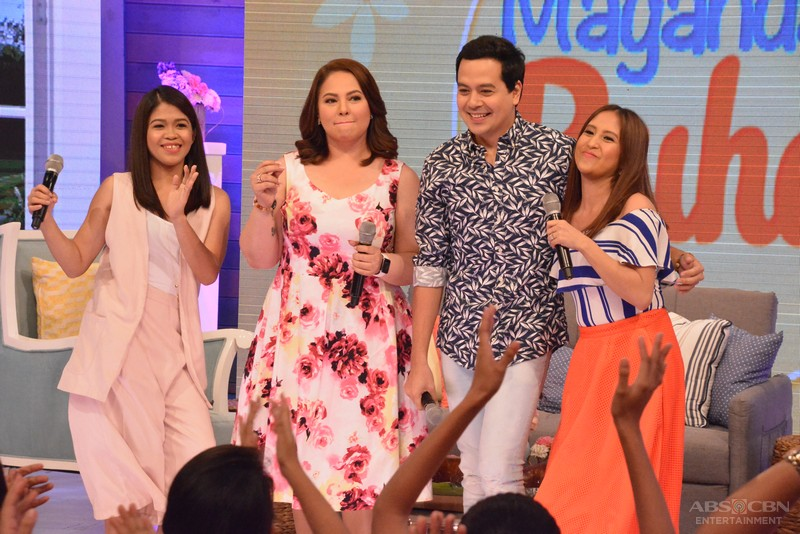 PHOTOS: Umagang kiligan with RomCom King John Lloyd Cruz sa Magandang Buhay