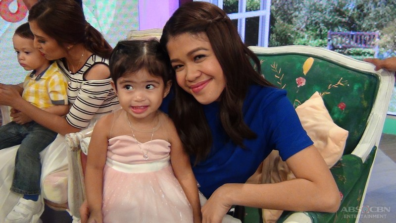 Behind-the-scenes photos: Magandang Buhay with Vina and Shaina Magdayao