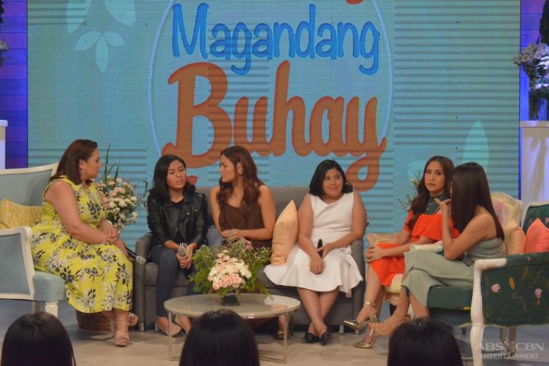 PHOTOS: Magandang Buhay with KC and siblings Frankie & Miel