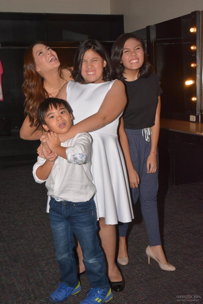BEHIND-THE-SCENES PHOTOS: Magandang Buhay with KC, Frankie, Miel & Miguel