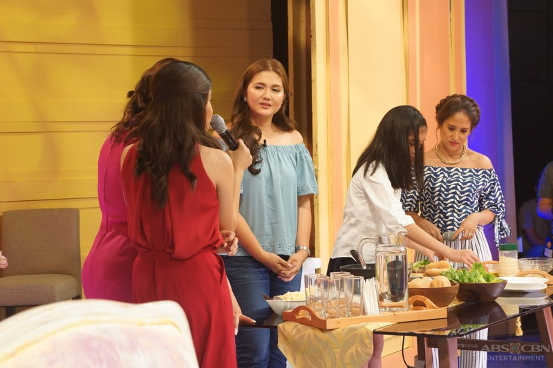 PHOTOS: Masayang kwentuhan with BFF Moms Dimples Romana and Maricel Laxa