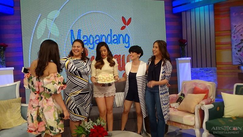PHOTOS: Magandang Buhay with KZ Tandigan and Morissette Amon