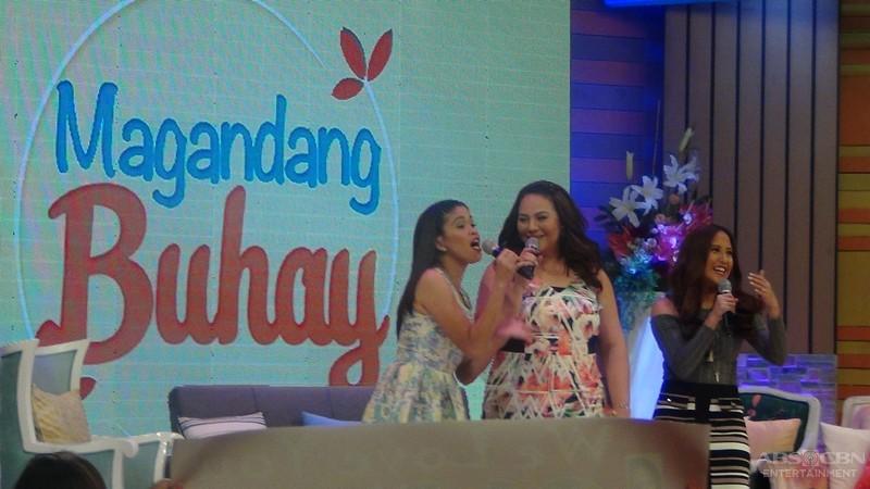 PHOTOS: Magandang Buhay with Voice Next Door JK, Bailey and Kyle