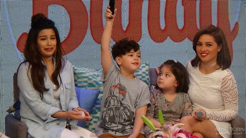 PHOTOS: Magandang Buhay with Momshies Andi Eigenmann and Denise Laurel