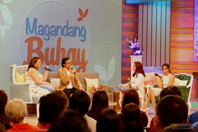 PHOTOS: Magandang Buhay with Rommel Padilla & Rey Valera