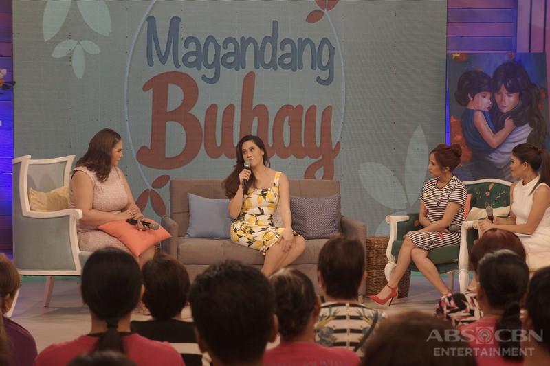 PHOTOS: Magandang Buhay with Bangs Garcia and Cristalle Bello