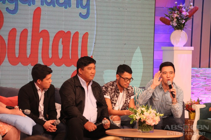 PHOTOS: Magandang Buhay with We Love OPM Grand CelebriTeam Tres Kantos