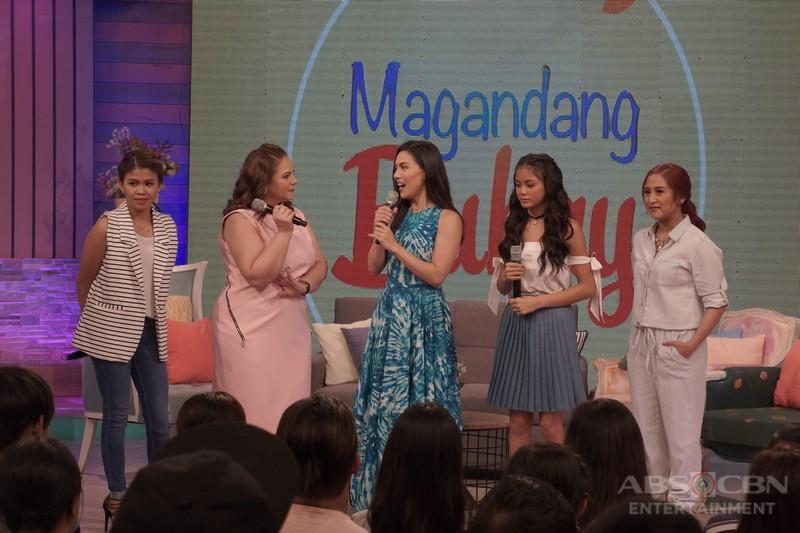 PHOTOS: Magandang Buhay with Ylona Garcia and Ciara Sotto