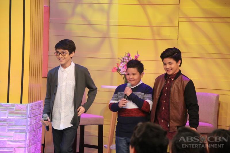 PHOTOS: Magandang Buhay with Zaijian, Bugoy and Clarence