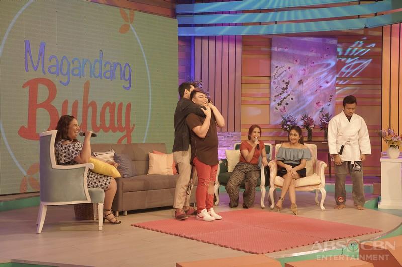 PHOTOS: Magandang Buhay with Geoff Eigenmann and Rayver Cruz