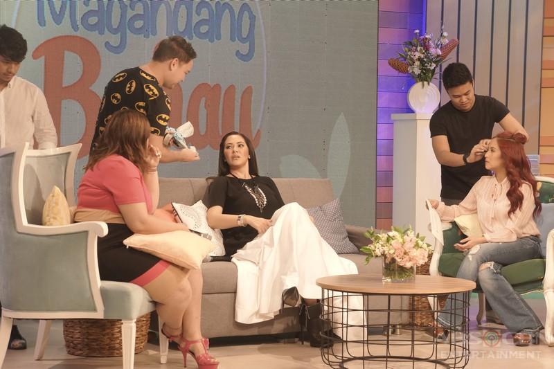 PHOTOS: Magandang Buhay with Ruffa Gutierrez and Melanie Marquez