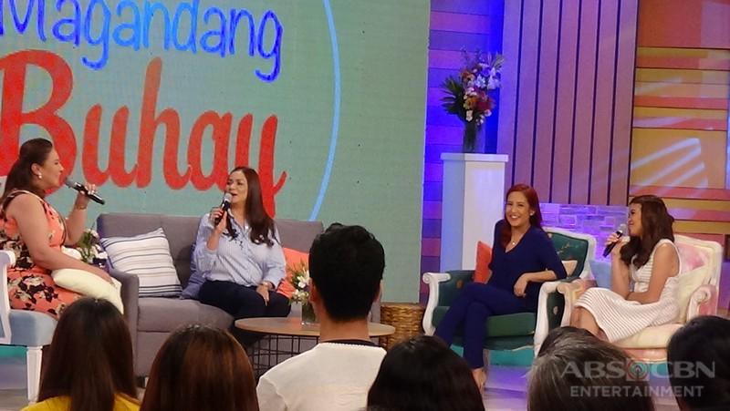 PHOTOS: Magandang Buhay with Dina Bonnevie and Winnie Cordero
