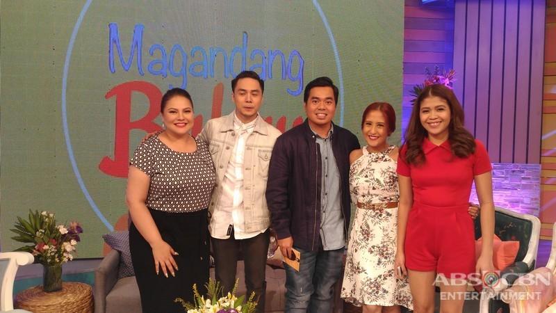 PHOTOS: Magandang Buhay with Sam Concepcion and Gloc 9