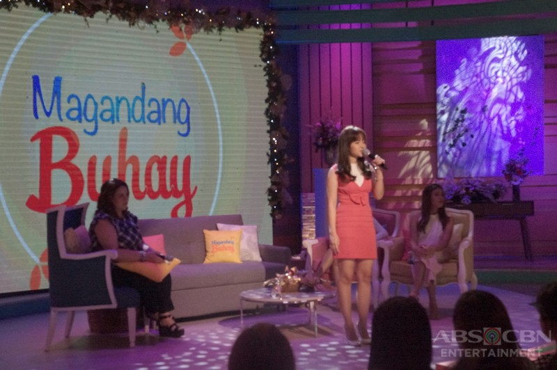 PHOTOS: Magandang Buhay with Sofia Andres and Kristel Fulgar