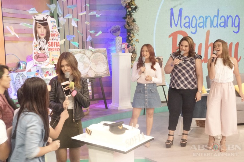 PHOTOS: Magandang Buhay with Sofia Andres and Kristel Fulgar