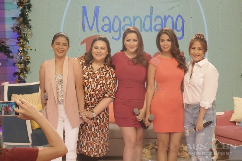 PHOTOS: Magandang Buhay with Ara Mina and Patricia Javier