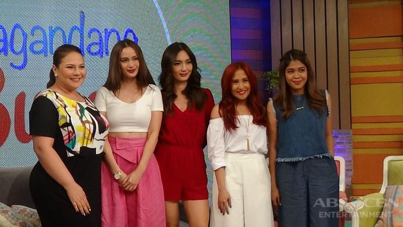 PHOTOS: Magandang Buhay with Arci Munoz
