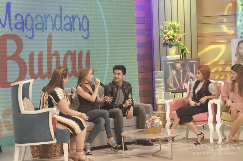 PHOTOS: Magandang Buhay with Marion Aunor, Jona, Migz and Maya
