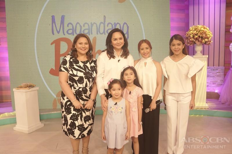 PHOTOS: Magandang Buhay with Charo Santos