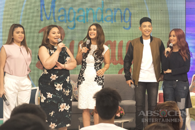 PHOTOS: Magandang Buhay with Vina Morales and Darren Espanto