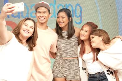 PHOTOS: Magandang Buhay with Kiefer Ravena and Alyssa Valdez