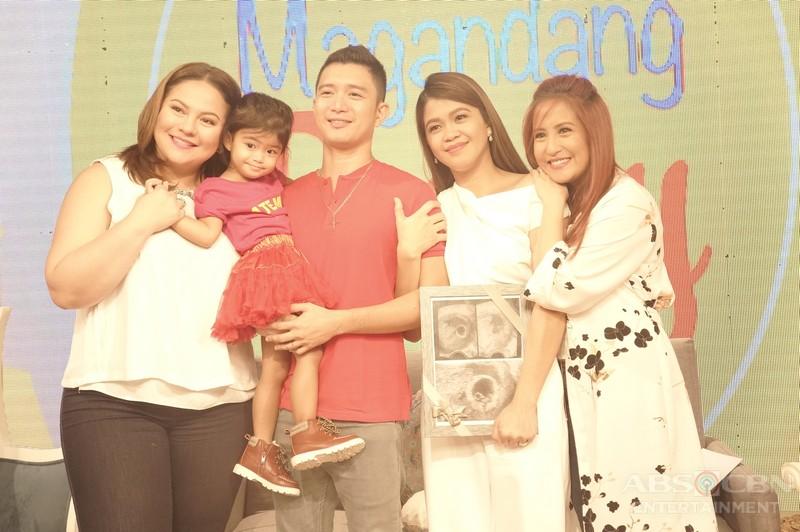 PHOTOS: Magandang Buhay with MelaSon and Baby Mela