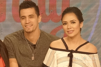 PHOTOS: Magandang Buhay with Marc Pingris and Danica Sotto