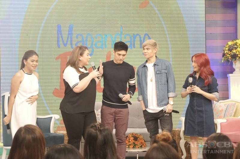 PHOTOS: Magandang Buhay with Robi Domingo and Paul Salas