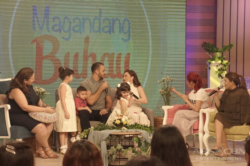 PHOTOS: Magandang Buhay with Team Kramer and Team Pomoy