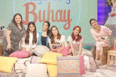 PHOTOS: Magandang Buhay with KC Concepcion, Garie Concepcion & Cloie Syquia Skarne
