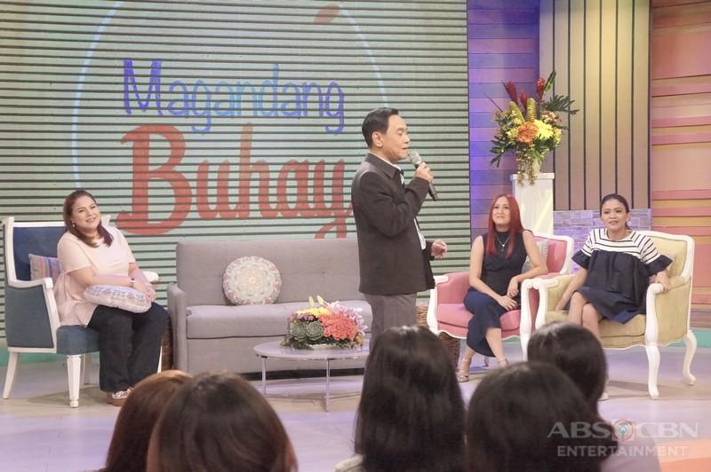 PHOTOS: Magandang Buhay with Anthony Taberna and Gus Abelgas