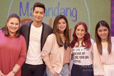 PHOTOS: Magandang Buhay with Angel Locsin and Zanjoe Marudo