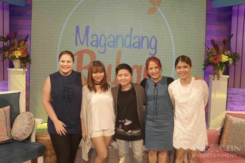 PHOTOS: Magandang Buhay with Ate Glow and Charice