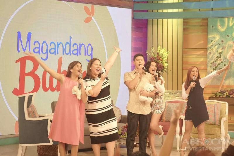 PHOTOS: Magandang Buhay with Maja Salvador and Enchong Dee