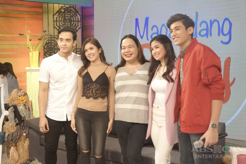 PHOTOS: Magandang Buhay with Diego, Sofia, Marco and Heaven
