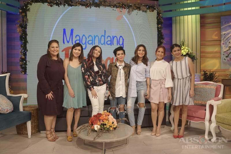 PHOTOS: Magandang Buhay with Angeline, Yeng, KZ and Kyla
