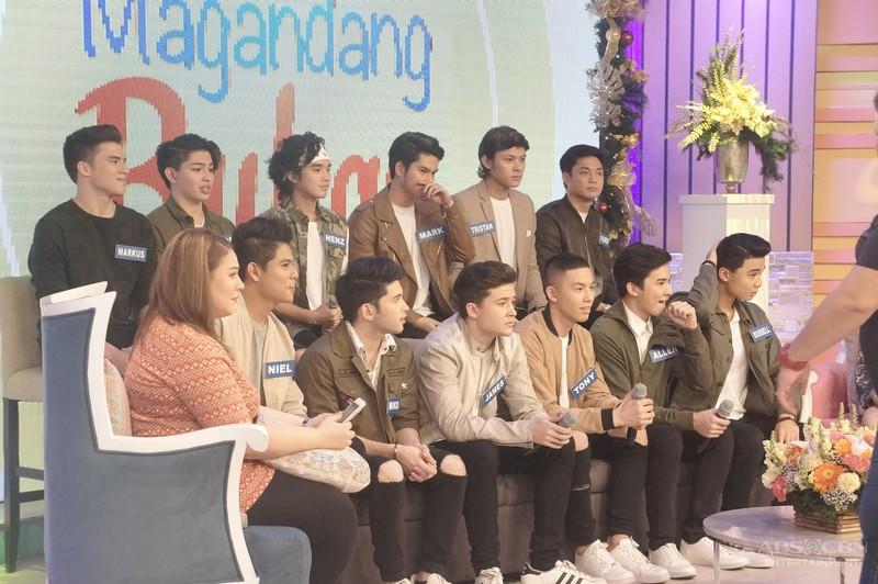 PHOTOS: Magandang Buhay with Pinoy Boyband Superstar's Top 12