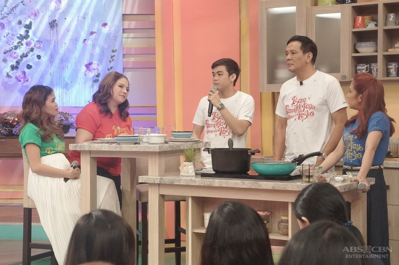 PHOTOS: Magandang Buhay with Joey & VJ Marquez and  Jigo & Jennica Garcia