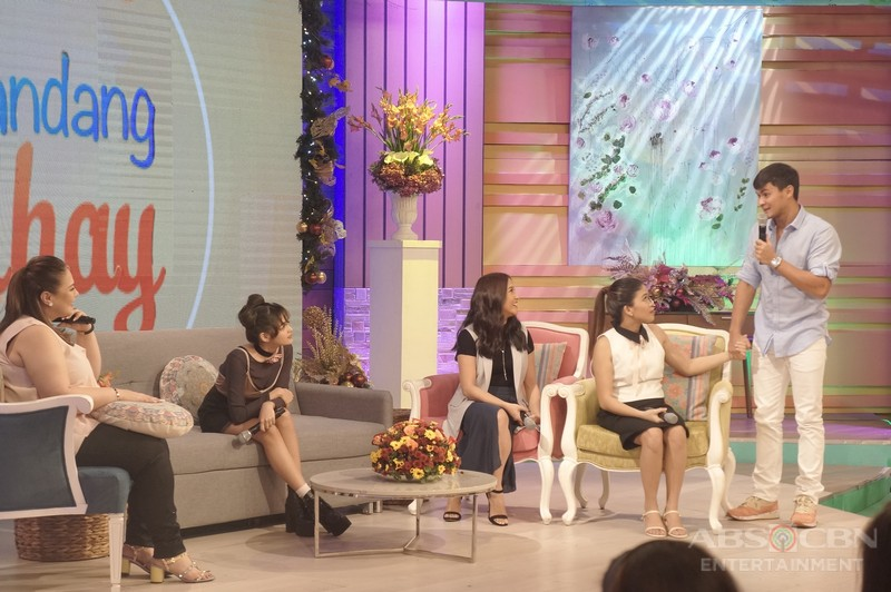 PHOTOS: Magandang Buhay with Andrea Brillantes and Christian Morones
