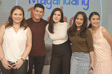 PHOTOS: Magandang Buhay with Shaina Magdayao and JC De Vera