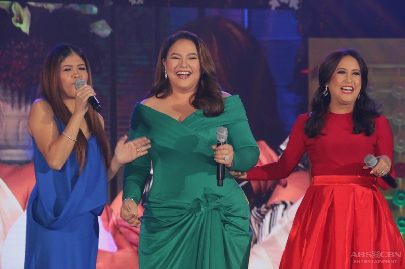 ABS-CBN Trade Event 2016: Magandang Buhay Momshies Karla, Jolina and Melai with their anakshies