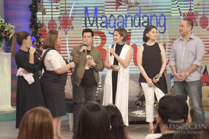 PHOTOS: Magandang Buhay with couples John & Isabel and Nadine & Richard