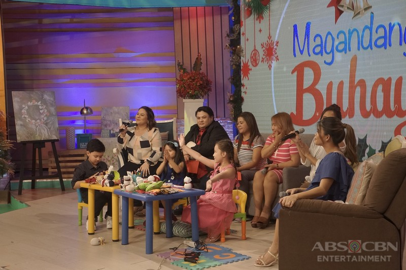 PHOTOS: Magandang Buhay with Alonzo Muhlach, Myel de Leon and Krystal Mejes